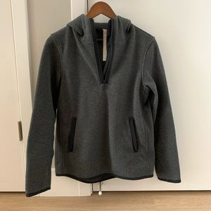 Lululemon Half-zip Fleece Hooded Jacket